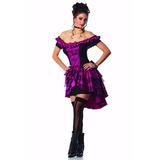 Disfraz Reina Salón Violeta Envio Gratis