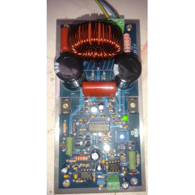 Amplificador Digital De 2000 Watts Placa Montada