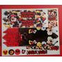 Cartela Adesivo Para Bicicleta Infantil Masculina Mickey