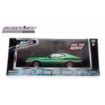 El333 1:43 Ford Gran Torino 72 Rapido Y Furioso Greenlight