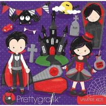 Kit Imprimible Vampiros Imagenes Clipart