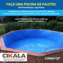 Lona 4 X 8 Mt - Pppp Ppe Pppep Pppeppp Azul Tq Peixe Paraná