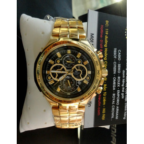 Reloj Casio Edifice Ef-554fg-1av - 100% Nuevo Y Original