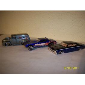 Hot Wheels Lote 3 Coches Impala