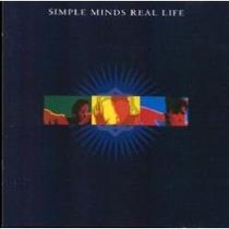 Cd Primer Edición E Importado De Simple Minds: Real Life