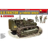 Us Tractor W/towing Winch Miniart 1/35