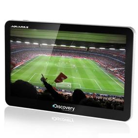 Gps Discovery Channel 7.0 Tv Digital E Câmera De Ré
