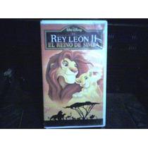 Pelicula Vhs El Rey Leon 2 (el Reino De Simba)