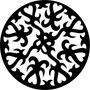 Quadro Decor Escultura Parede Vazada Mdf Mandala Sob Medida