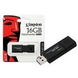 Pen Drive Kingston Dt100g3 16gb Usb 3.0 - Original E Lacrado