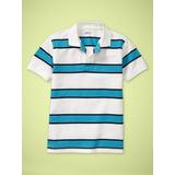Gap Juvenil Camisa /camiseta Polo Piqué Listrada Masculino!!