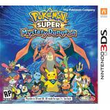 Jogo Pokemon Super Mystery Dungeon Nintendo 3ds Lacrado