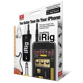 Irig Amplificador Com Efeitos Sonoros Para Iphone, Ipod Ipad