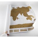 Mapa Mundi Raspadinha - Raspe Os Países Visitados! 88x52cm