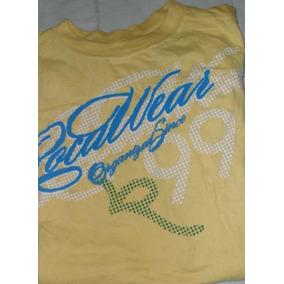 Roca Wear, T Shirt Amarilla Para Joven 14 -16 Envio Gratis