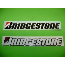 Jgo De 2 Stickers Calcomanias Bridgestone Tuning!!!