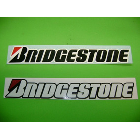 Jgo De 2 Stickers Calcomanias Bridgestone Tuning!!!