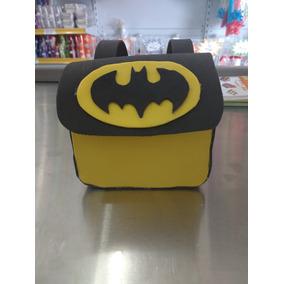 Lembrancinhas Bolsa Eva Batman Com 10 Un