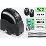 Kit Motor Portão Eletrônico Deslizante 1/3 220v - Rcg