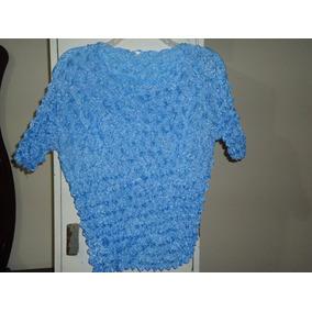 Preciosa Blusa Casual Ajustable Para Dama Talla L-36