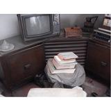 Mueble Antiguo Con Radio De Frecuencia Corta