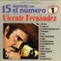 Lp De Vicente Fernandez: 15 Grandes Con El Numero 1