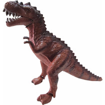 Brinquedo Dinossauro 3d Led Anda Sozinho Faz Som