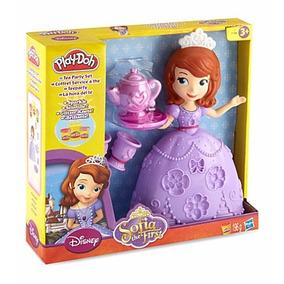 Princesa Sofia Play Doh Plastilina La Hora Del Te Hasbro
