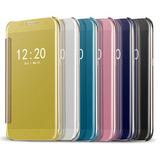 Capa Capinha Flip Cover Espelhada Galaxy S7 Edge G935 5.5