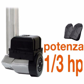 Kit Motor Portão Eletrônico Basculante Ppa 1/3 Hp Potenza