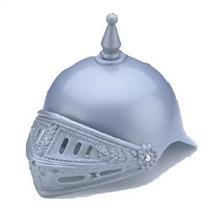 Plastic Cruzado Caballero Traje De Casco Medieval