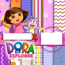 Kit Scrapbook Digital Dora Aventureira