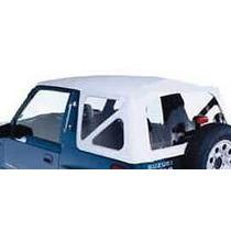 Toldo Suave Capota Color Blanco Para Tracker Geo 1988-1994