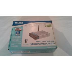Roteador D-link Dsl-2640t Com Muito Pouco Uso