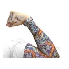 Remate Lote 6 Pares De Mangas Tatuajes Ideal Motociclistas