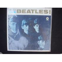 Acetato Conozca A The Beatles Sello Verde Capitol