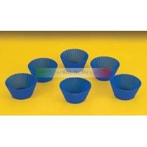 6 Capacillos Para Cupcake De Silicona
