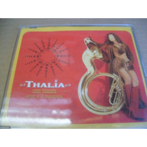 Thalia & Banda Amor A La Mexicana Cd Sencillo Foto 2001 Pyf