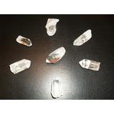 Reiki Set Cristales 7 Cuarzos Cristal De Roca+ 1 Biterminal