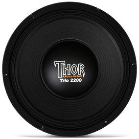 Falante Woofer 12 Polegadas 1100w Rms Thor 2200 Pmpo 8 Ohms