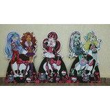 Kit 9 Monster High Totem Chão Painel Display