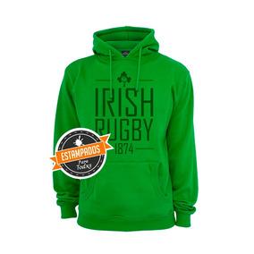 Irlanda Rugby Irfu Poleron Estampado Variedad Colores Tallas