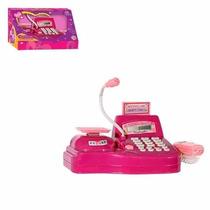 Caixa Registradora Infantil Com Som E Luz Eletrônica
