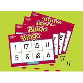 Bingo Lotería Didáctica De Números Marca Trend