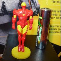 Marvel Mini Figura De Iron Man Tipo Huevo Kinder ¡¡remate!!!