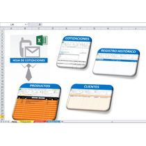 Hoja Excel Para Cotizaciones Personalizable A Tu Negocio