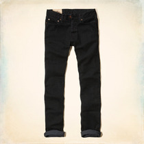 Jeans Hollister By Abercrombie Skinny Negro Importado Eeuu