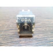 Fusible F.l.m Pala Macho De 80 Amper Color Negro