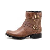 Bota Montaria Feminina Casual Ziper Atron Shoes 9109