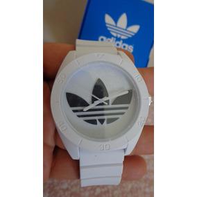 Relógio adidas Adh2823 Branco Chronograph Silicone Original